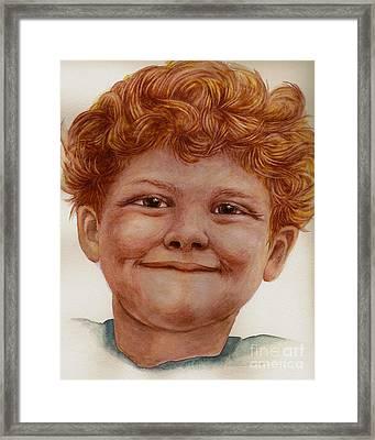 Chuckleberry Framed Print by Nan Wright