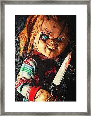 Chucky Framed Print by Taylan Apukovska