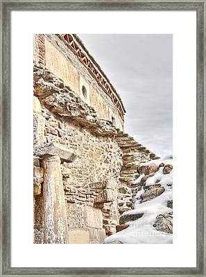 Church Detail Framed Print by Gabriela Insuratelu