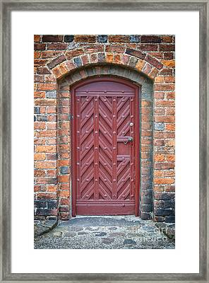 Church Door 02 Framed Print