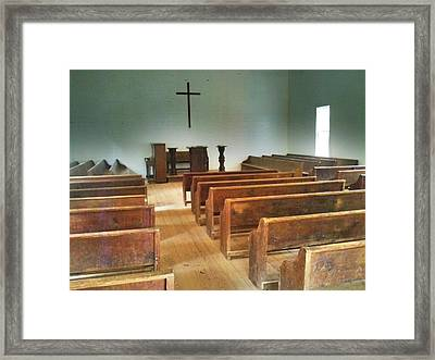 Church Framed Print by Janice Spivey