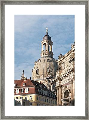 Church Of Our Lady Dresden, Germany Framed Print