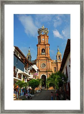 Church Of Our Lady Of Guadalupe (la Framed Print