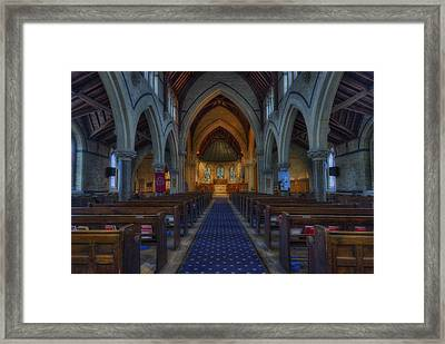 Church Of Our Saviour Framed Print by Ian Mitchell