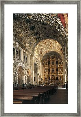 Church Of Santo Domingo De Guzm�n Framed Print