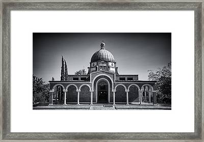 Church Of The Beatitudes  Framed Print by Stephen Stookey