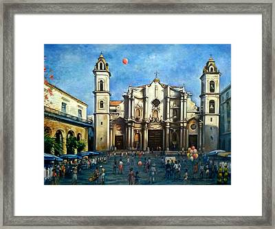 Church Square Havana Framed Print