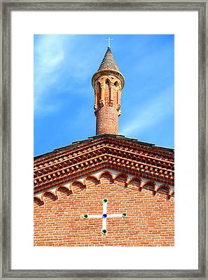 Church Top Framed Print by Valentino Visentini