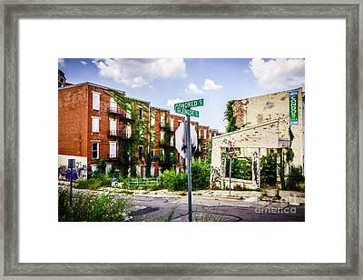 Cincinnati Glencoe-auburn Place Picture Framed Print by Paul Velgos