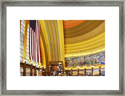 Cincinnati Museum Center At Union Terminal 0018 Framed Print