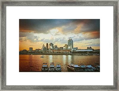 Cincinnati Ohio IIi Framed Print
