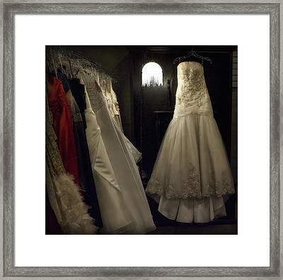 Cinderella's Closet Framed Print by Hazel Billingsley