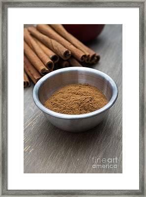 Cinnamon Spice Framed Print by Edward Fielding