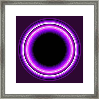 Circle Motif 144 Framed Print by John F Metcalf