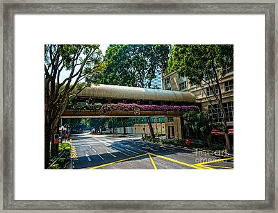 City Framed Print by Arik S Mintorogo