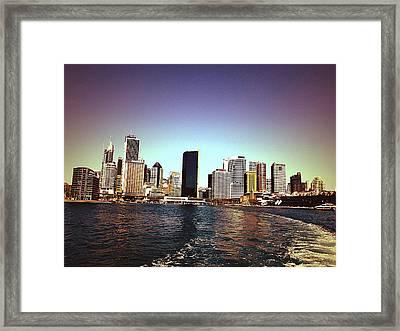 City Framed Print by Girish J