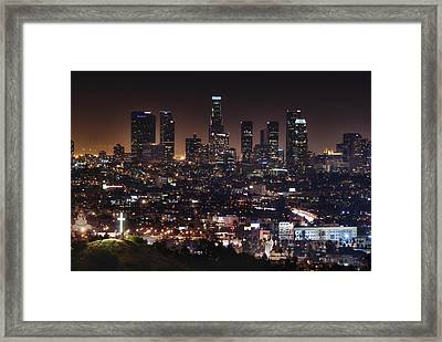 City Of Angels Framed Print by Natasha Bishop