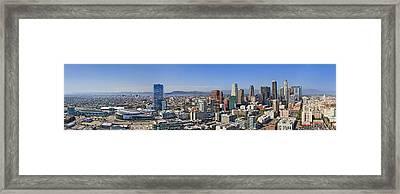 City Of Los Angeles Framed Print by Kelley King