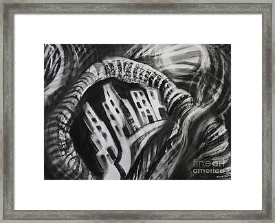 City-scape Framed Print