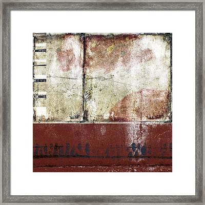 City Sidewalks Framed Print by Carol Leigh