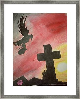 City Undead Framed Print by Justin Moore