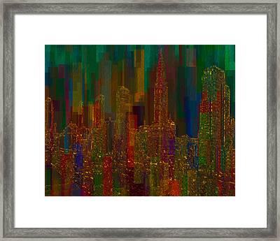 Cityscape 5 Framed Print