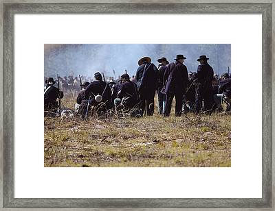 Civil War Framed Print by Kitty Ellis
