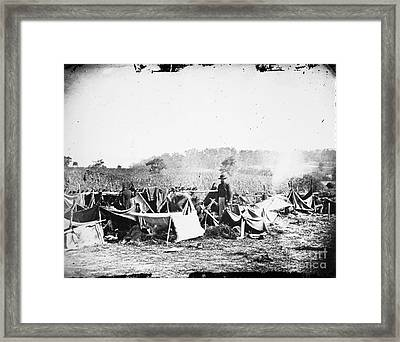 Civil War: Wounded, 1862 Framed Print by Granger