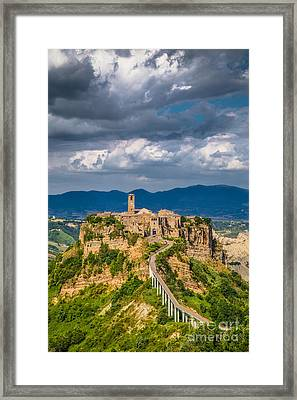 Civita Di Bagnoregio Framed Print