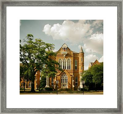 Clark Hall - University Of Alabama Framed Print by Mountain Dreams