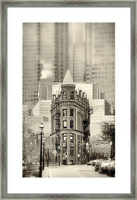 Class Amongst The Glass Framed Print