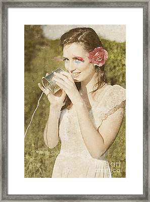 Classic Communication Framed Print by Jorgo Photography - Wall Art Gallery