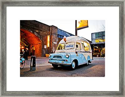 Classic Cream Framed Print by Gabor Fichtacher