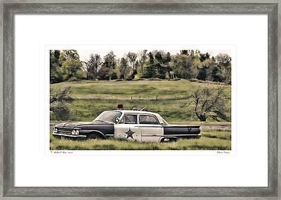 Classic Cruiser Framed Print by Richard Bean