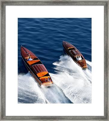 Classic Speedsters Framed Print