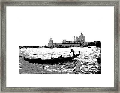 Classic Venice Framed Print by Jacqueline M Lewis