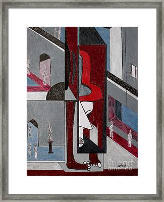 Claude Visits The D'orsay Framed Print