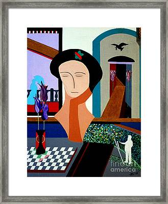 Claude's Dream Framed Print