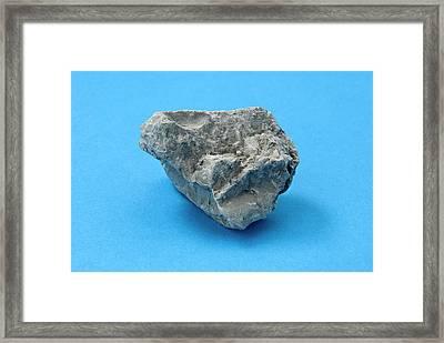 Clay Framed Print
