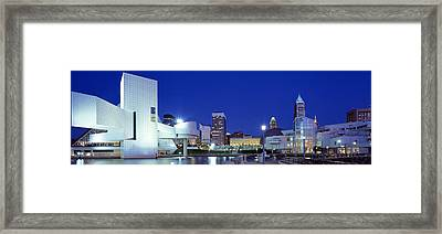 Cleveland, Ohio, Usa Framed Print by Panoramic Images