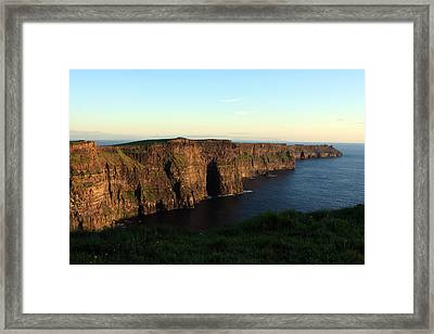 Cliffs Of Moher, Clare, Ireland Framed Print by Aidan Moran