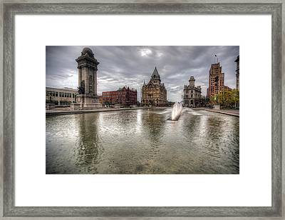 Clinton Square Framed Print