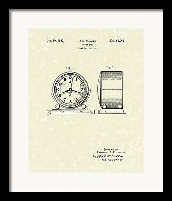 Encasement Drawings Framed Prints