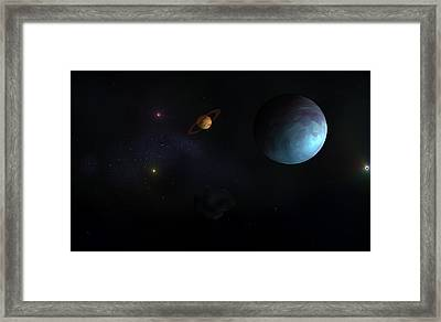 Close Call Framed Print by Ricky Haug