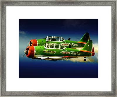 Close Formation Framed Print by Paul Job