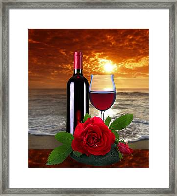Closing Time Framed Print by Manfred Lutzius