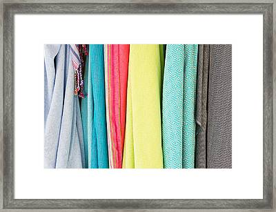 Clothes Framed Print