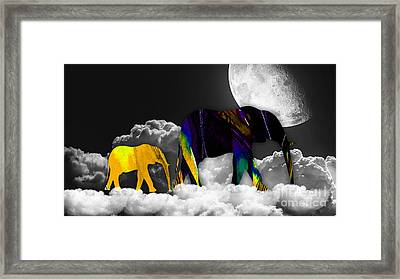 Cloud 9 Framed Print by Marvin Blaine