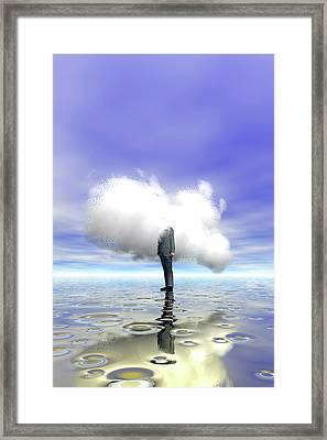 Cloud Computing Framed Print