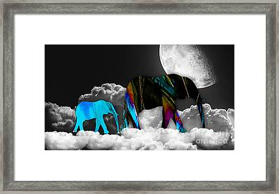 Clouds Framed Print by Marvin Blaine